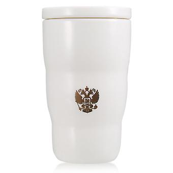 Ceramic Thermal Cup With Russian National Emblem Print