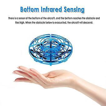 mini drone elektroninen lelu LED mini anturi drone UFO lelu
