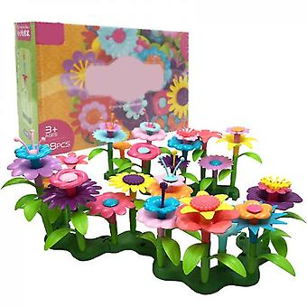 Diy Handmade Flower Arrangement Toys(98 PCS)