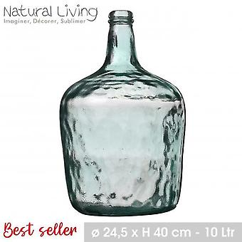Lady Jeanne Recycled Glass Vase 10L