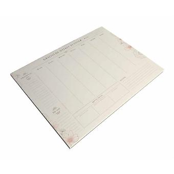Gratitude Weekly Planner Notepad by Insight Editions
