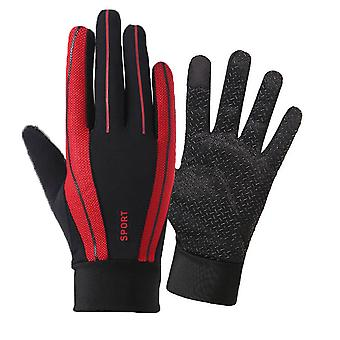 Motorcycle Gloves Outdoor Sports Cycling Bicycle Full Finger Gloves Mittens