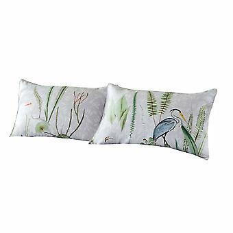 Paoletti Aaliyah Botanical Pillowcase (Pack of 2)