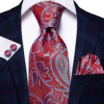 Italienische Hi-Krawatte 100% Seide Herren Krawatte Set, 8,5cm (C-3526)