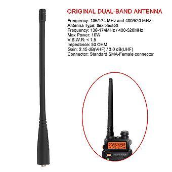 Antenne bibande originale Sma-female Antenne Vhf/uhf 136-174 Pour Baofeng
