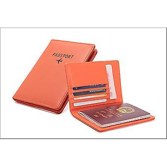 Titulaire du passeport en cuir pu