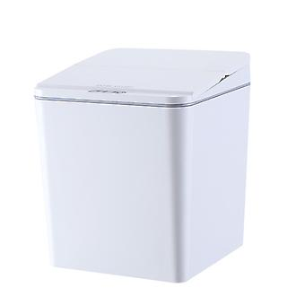Homemiyn Portable Mini Smart Trash Can Home Desktop Automatic Induction Trash Can For Car Desktop Kitchen