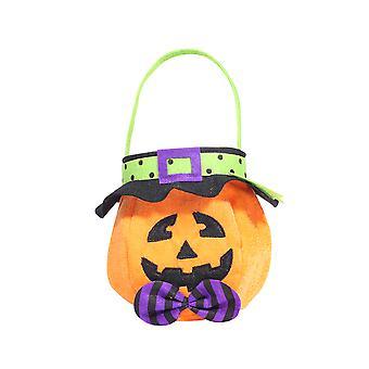 Halloween handväska trick eller behandla godispåsar non-woven barn