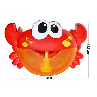 Nouvelle bulle extérieure Grenouille Crabe Bébé Bain Jouet Bubble Machine Baignoire de bain Savon Machine Jouets