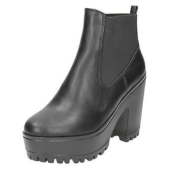 Spot de senhoras na plataforma Ankle Boots