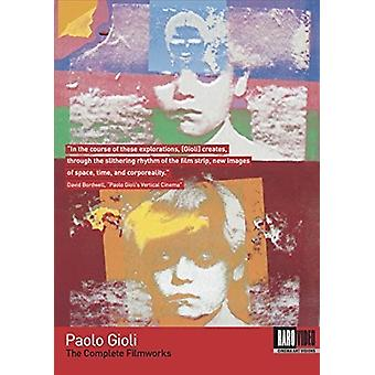Paolo Gioli: The Complete Filmworks [DVD] USA import