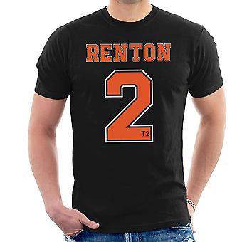 Trainspotting T2 Renton nummer 2 mænds T-Shirt