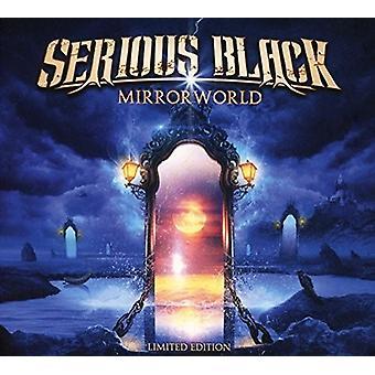 Vakava musta - Mirrorworld [Ltd. Digipak Edition] [CD] Yhdysvallat tuoda