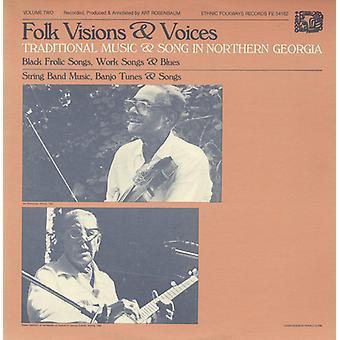 Folkliga visioner & röster - Folkmusik visioner & röster: Vol. 2-traditionell musik & låt i norra Georgi [CD] USA import