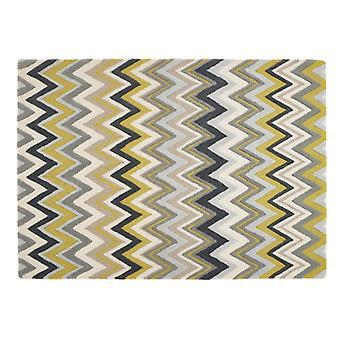 Monaco Rectangle ocre tapis tapis modernes