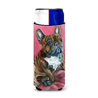 Bulldog francese Snuggle Michelob Ultra bevanda isolante per lattine slim