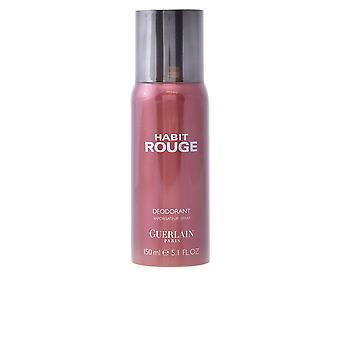 Abitudine di Guerlain Rouge Deo Spray 150 Ml per gli uomini