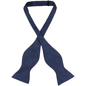 Vesuvio Napoli SELF TIE Bow Tie PAISLEY Design Men's BowTie