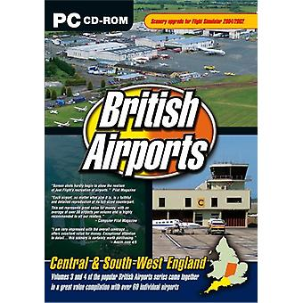 British Airports Central South West England (PC CD) - Neu