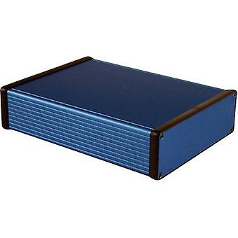 Hammond Electronics 1455T2201BU Universal enclosure 220 x 165 x 51.5 Aluminium Blue 1 pc(s)