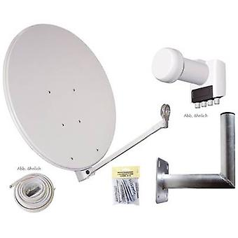 AllVision SAH-S 4000/80-QUAD Set SAT system w/o receiver Number of participants 4 80 cm
