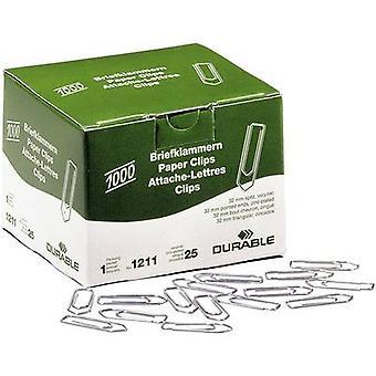 Kestävä paperi clip 121125 32 mm 1000 PCs()