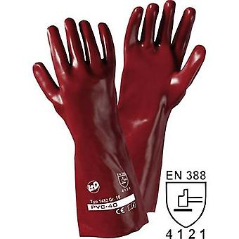 L + D PVC 1482 PVC beschermende handschoen maat (handschoenen): 10, XL EN 388 CAT II 1 paar