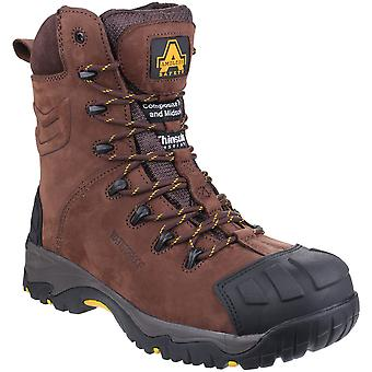 Amblers seguridad Mens AS995 Pilar impermeable encajes hasta botas