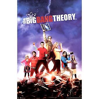 O teoria do Big Bang temporada 5 Poster Print