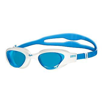Arena The One Adult Swimming Goggles-Blue Lens-Blue/White