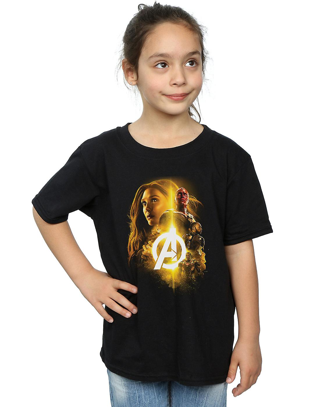 Marvel Girls Avengers Infinity War Vision Witch Team Up T-Shirt