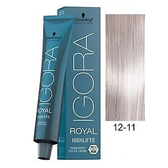 Schwarzkopf Igora Royal Highlifts 12-11 Special Blonde Cendre Extra 60ml
