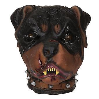 Maschera zombie Rottweiler