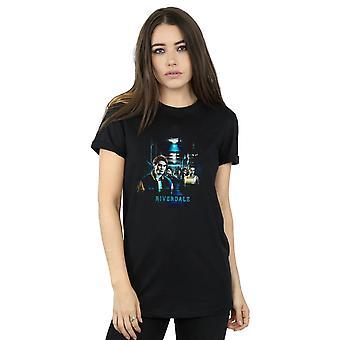 Riverdale Women's Flooded Hallway Boyfriend Fit T-Shirt