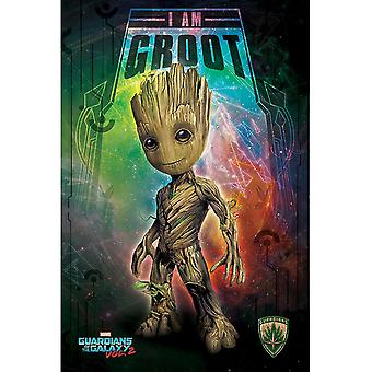 Guardians Of The Galaxy 2 Groot Poster