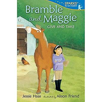 Bramble und Maggie geben und nehmen (Candlewick Funken)