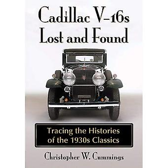 Cadillac V-16s Lost and Found: Tracing historier af 1930s klassikere