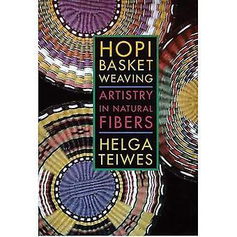 Hopi Basket Weaving: Artistry in Natural Fibers