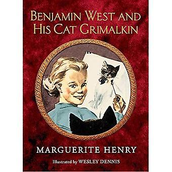 Benjamin West und seine Katze Grimalkin