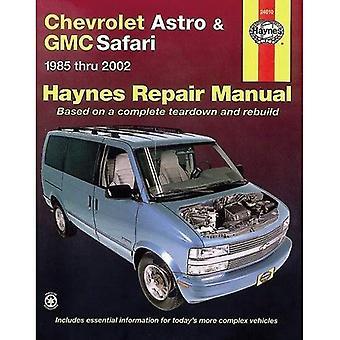 Haynes Chevrolet Astro & GMC Safari 1985-2005 (manuels de réparation Haynes)