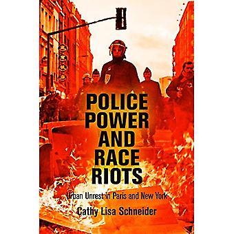 Polizei macht und Rassenunruhen: Unruhe in den Städten in Paris und New York