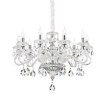 Ideal Lux - Negresco Clear Glass dix lumière lustre IDL141060