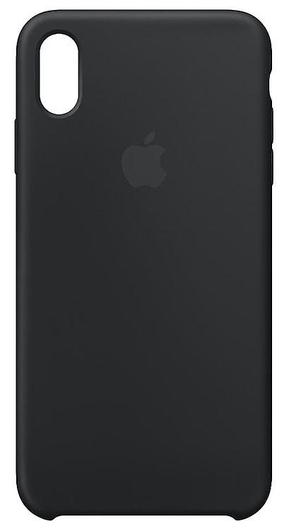 Original packaging Apple silicone Micro Fiber cover case for iPhone XS Max - black