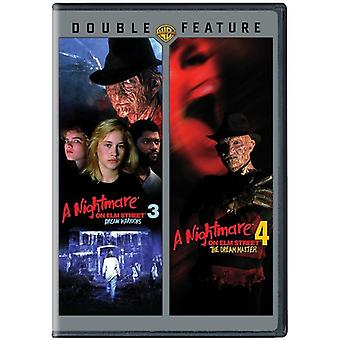 Nightmare on Elm Street 3 & 4 [DVD] USA import