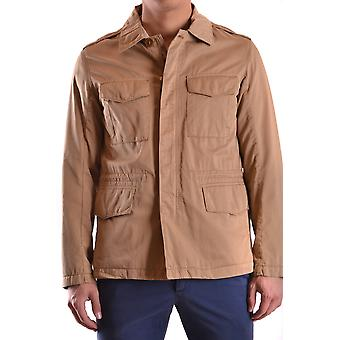 Gant Ezbc144068 Men's Beige Cotton Outerwear Jacket