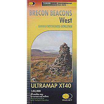 Brecon Beacons West - 9781851375998 Book