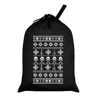 Grindstore Anti-Weihnachts-Schwarzer Weihnachtsmann