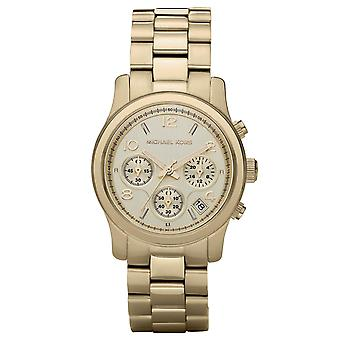 Michael Kors Mk5055 Ladies Gold Chronograph Watch