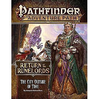 Pathfinder eventyrbyen uden for tid (tilbagevenden af Runelords 5 af 6)
