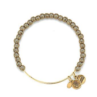 Alex and Ani Euphrates Beaded Gold Bangle BBEB17RG